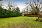 Backyard at 13152 20a Avenue, Elgin Chantrell, South Surrey White Rock