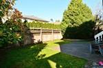 backyard2 at 12747 24 Avenue, Crescent Bch Ocean Pk., South Surrey White Rock