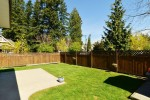 back-yardd at 3598 Rosemary Heights Crescent, Morgan Creek, South Surrey White Rock