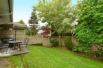 backyard at 27 - 18181 68 Avenue, Cloverdale BC, Cloverdale