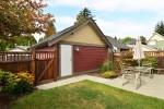 back-yard at 165 172a Street, Pacific Douglas, South Surrey White Rock